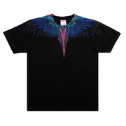 MARCELO BURLON COUNTY OF MILAN - BEIZER WINGS TSHIRT NERO