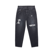 MARCELO BURLON COUNTY OF MILAN - CARROTT DENIM DISTRESS NERO