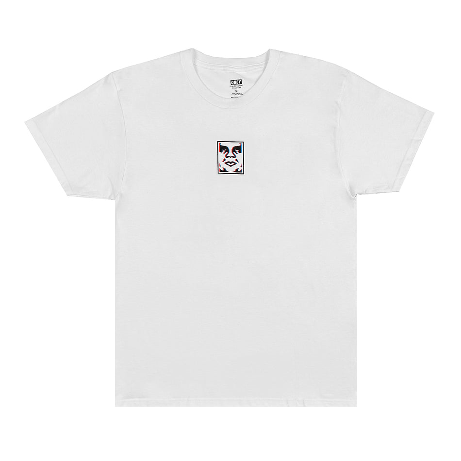OBEY - DOUBLE VISION LOGO BIANCO