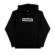 PLEASURES NOW - ACAB HOODIE LOGO NERO