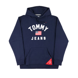 TOMMY JEANS - AMERICANA HOODIE NAVY