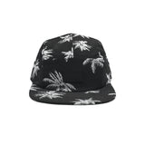VANS - DAVIS 5 PANEL CAP BLACK WHITE PALM