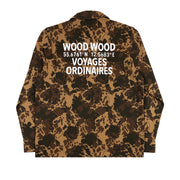 WOOD WOOD -AXEL OVERSHIRT DENIM CAMO