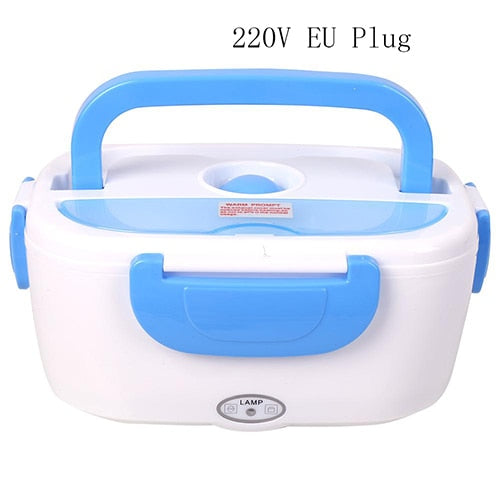 Portable Electric Heating Lunch Box Giftlah