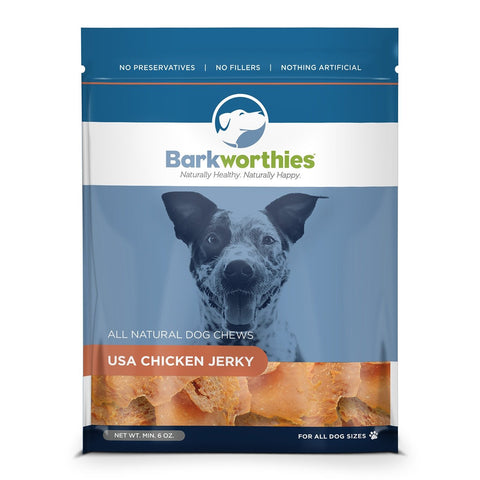 Barkworthies Chicken Jerky Dog Treat
