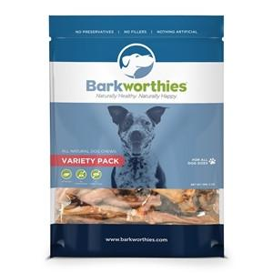 Barkworthies Variety Pack Dog Treat