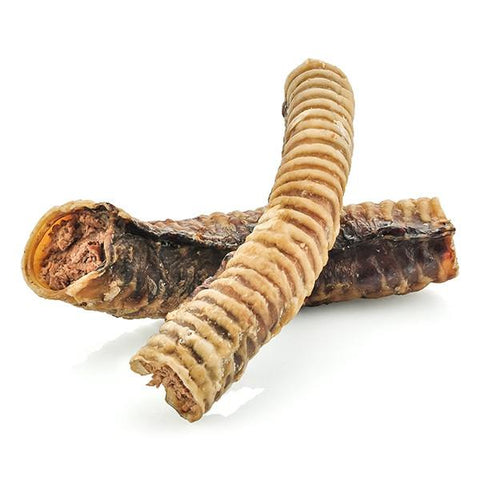 "Barkworthies Beef Trachea with Kangaroo Filling - 04"" Dog Treat"