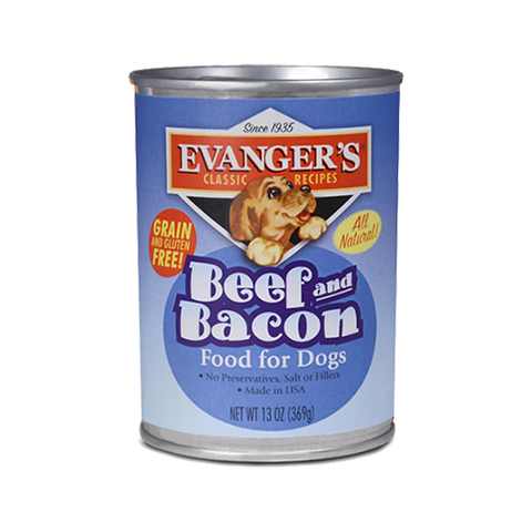 Evanger's Beef & Bacon Dog Food