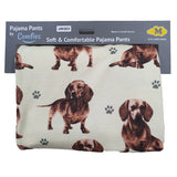Comfies Dog Breed Lounge Pants for Women, Dachshunds