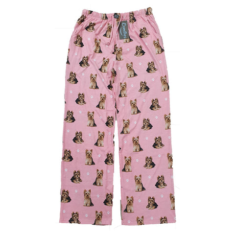 Comfies Dog Breed Lounge Pants for Women, Yorkie