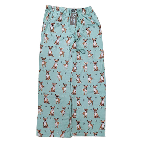 Comfies Dog Breed Lounge Pants for Women, Chihuahua