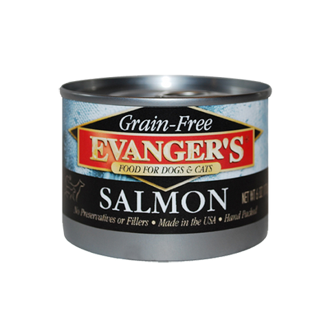 Evanger's Grain Free Wild Salmon For Dogs & Cats
