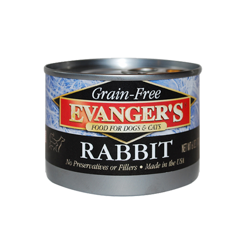 Evanger's Grain Free Rabbit For Dogs & Cats