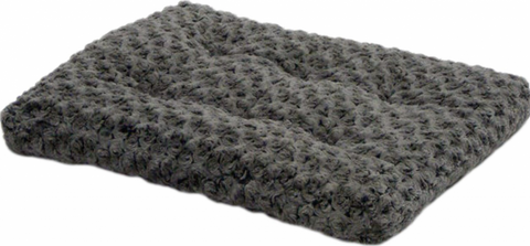 MidWest Quiet Time Ombre Swirl Grey Dog and Cat Bed
