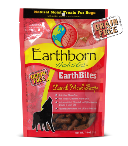 Earthborn Holistic® EarthBites™ Lamb Meal Recipe Dog Treats