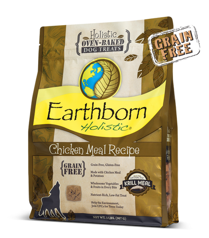 Earthborn Holistic Chicken Meal Recipe Dog Treats
