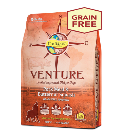 Earthborn Holistic Venture™ Pork Meal & Butternut Squash Dry Dog Food
