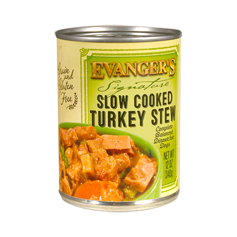 Evanger's Slow Cooked Turkey Stew Dog Food