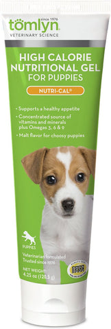 Tomlyn Nutri-Cal High Calorie Nutritional Gel for Puppies - 4.25oz