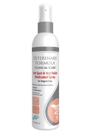Veterinary Formula-Clinical Care Hot Spot and Itch Relief Medicated Spray