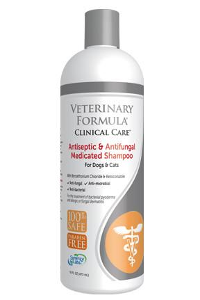 Veterinary Formula-Clinical Care Antiseptic and Antifungal Medicated Shampoo