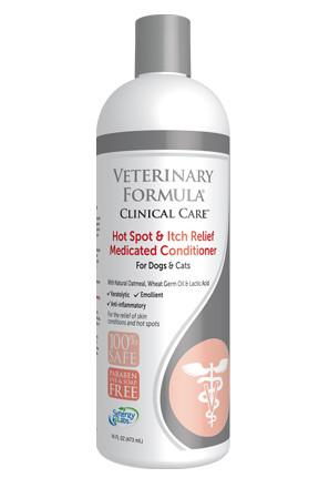 Veterinary Formula-Clinical Care Hot Spot and Itch Relief Medicated Conditioner