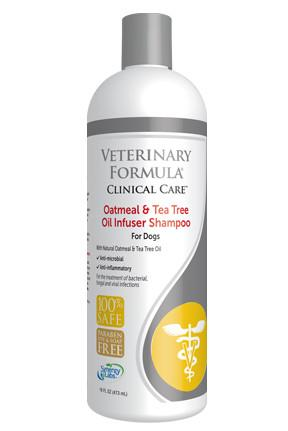 Veterinary Formula-Clinical Care Oatmeal and Tea Tree Oil Infuser Shampoo