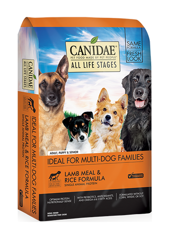 CANIDAE® ALL LIFE STAGES LAMB MEAL & RICE FORMULA  DRY DOG FOOD