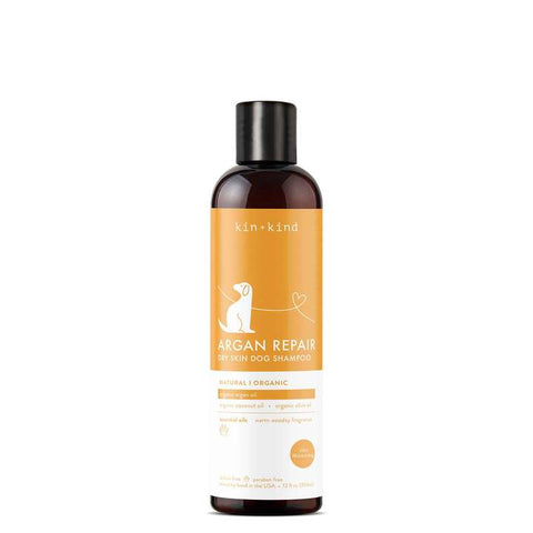 Kin + Kind Argan Repair Dry Skin Dog Shampoo