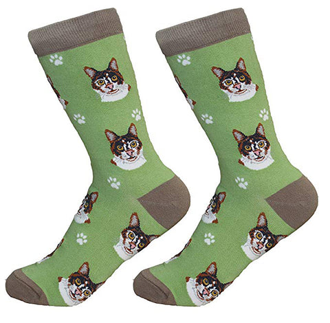 Sock Daddy Breed Socks, Calico Cat