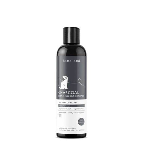 Kin + Kind Charcoal Deep Clean Dog Shampoo