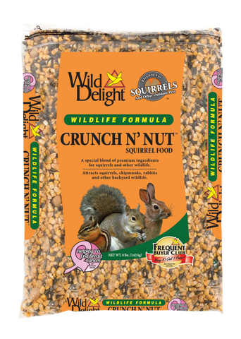 Wild Delights Crunch N' Nut® Squirrel Food