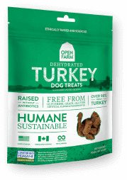 Dehydrated Turkey Treats for Dogs