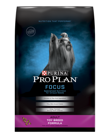 Pro Plan FOCUS Adult Toy Breed Formula Dry Dog Food