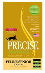 Precise Naturals Feline Senior Formula Cat Food