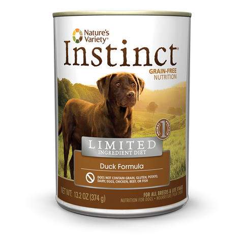 Nature's Variety Instinct Limited Ingredient Canned Dog Food - Duck