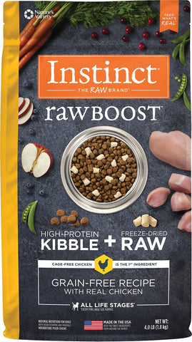 Instinct® Raw Boost® Grain-Free Recipe with Real Chicken for Dogs