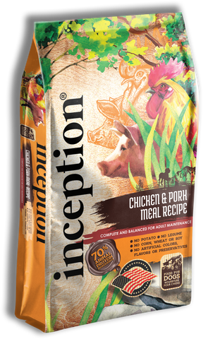 Inception® Chicken & Pork Meal Recipe for Dogs