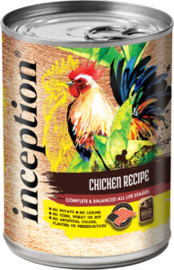 Inception® Chicken Recipe Canned Food for Dogs