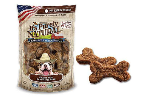 It's Purely Natural® Chicken Jerky Bone-Shaped Treats for Dogs