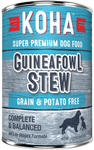 Koha Guineafowl Stew Dog Food