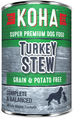 Koha Turkey Stew Dog Food