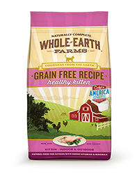 Whole Earth Farms Grain Free Healthy Kitten Recipe