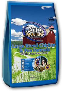 NutriSource Large Breed Chicken & Pea Formula Dog Food