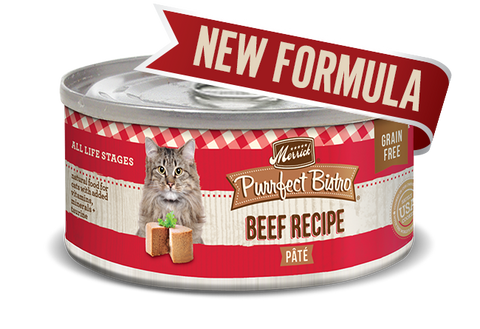 Merrick Purrfect Bistro Grain Free Beef Pâté for Cats