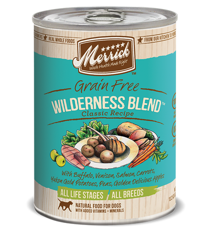 Merrick Classic Wilderness Blend Wet Dog Food
