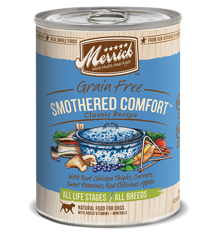 Merrick Classic Smothered Comfort Wet Dog Food