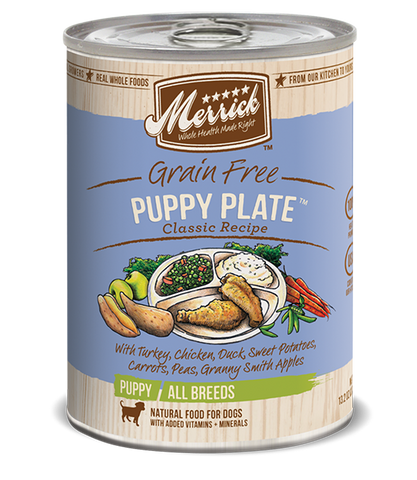 Merrick Classic Puppy Plate Wet Dog Food