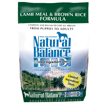 Natural Balance L.I.D. Limited Ingredient Diets® Lamb Meal & Brown Rice Dry Dog Formula