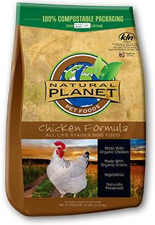 Natural Planet Chicken Formula Dog Food